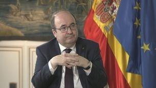 """""""Planta baixa"""" - Miquel Iceta: """"L'indult ens permetrà parlar amb més llibertat i menys cotilles"""""""