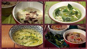 10 sopes fredes per a un àpat d'un dia de calor