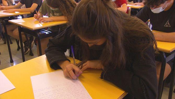 Carta al meu jo del futur: alumnes de 4t d'ESO escriuen per llegir-se d'aquí 8 anys