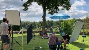 Així s'ha rodat l'espot de l'estiu de TV3 amb Els Amics de les Arts