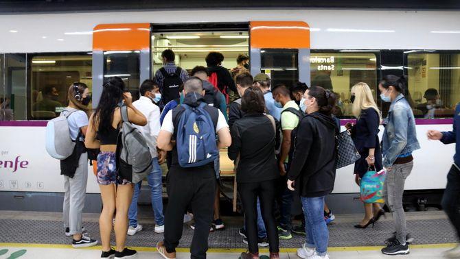 Nova jornada de vaga a Rodalies: retards i trens anul·lats