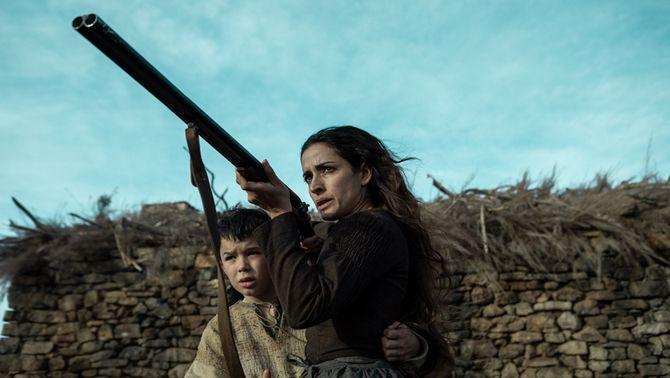 Inma Cuesta, en un moment de la pel·lícula 'El Páramo', de David Casademunt