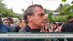 """Bolsonaro esclata: """"Per què un passaport de vacuna"""""""