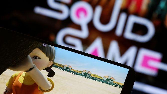"""""""El juego del calamar"""" no està recomanada a Espanya per a menors de 16 anys"""