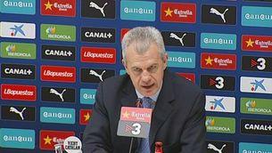 L'Espanyol presenta Aguirre