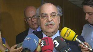 Mas-Colell carrega contra el dèficit de l'1,58%
