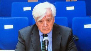 José Manuel Romero durant la declaració d'aquest dijous a l'Audiència de Palma (EFE)