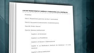Així és la llei de transitorietat