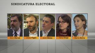 Membres de la Sindicatura Electoral