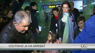 Coutinho aterra a Barcelona