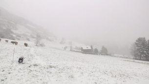 La nevada a la Vall d'Aran