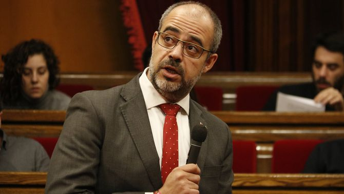 El TSJC ordena investigar Miquel Buch per l'escorta de Puigdemont