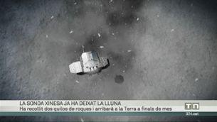 La sonda xinesa ja ha deixat la Lluna