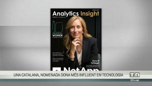 La catalana Anna Navarro, nomenada la dona més influent del món en tecnologia