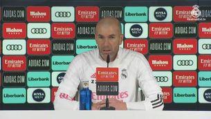 Zidane sobre el partit davant l'Osasuna