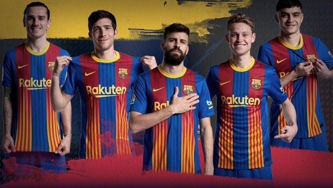 Samarreta especial per al decisiu Barça - Atlètic