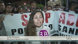 Protestes a Palma contra les restriccions