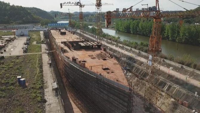 Una rèplica del Titanic en mida real, nova atracció turística a la Xina