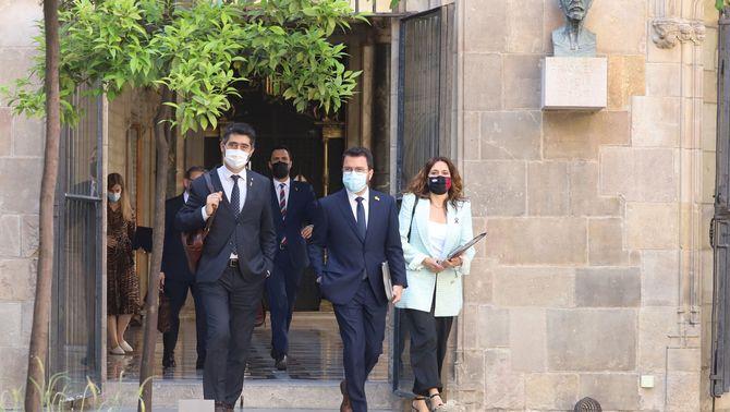 Vilagrà anirà al sopar amb el rei i tanca la topada al govern per la negativa de Puigneró