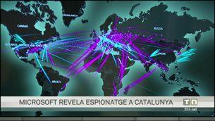Microsoft revela que un software israelià venut a governs va espiar ciutadans catalans