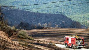 Estabilitzat l'incendi de la Conca de Barberà i l'Anoia i tots els desallotjats ja poden tornar a casa