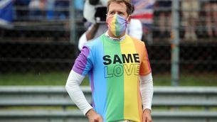 La FIA amonesta Sebastian Vettel per exhibir una samarreta a favor dels drets LGBTI