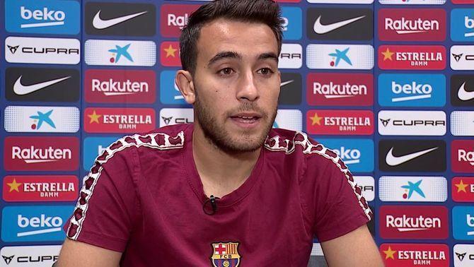 """Èric Garcia, exigent: """"Toca millorar i ho faré"""""""