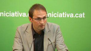 El candidat d'ICV, Joan Herrera