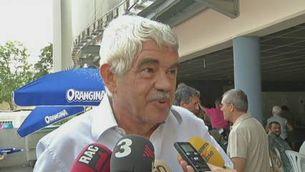 L'expresident Maragall, partidari del referèndum