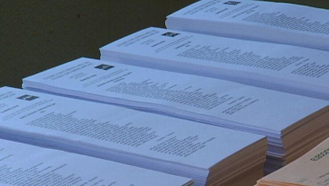 Paperetes electorals en les eleccions generals del 2008