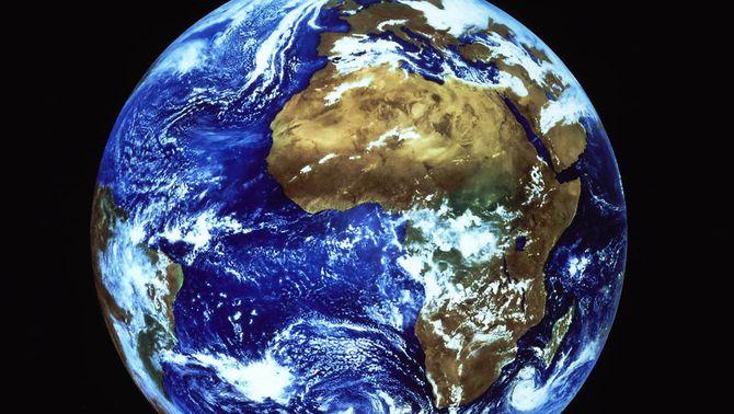 Una imatge de la Terra.