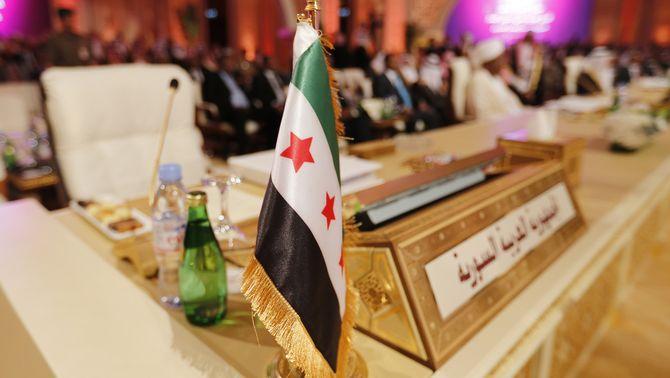 L'oposició ocupa el seient de Síria a la cimera de la Lliga Àrab