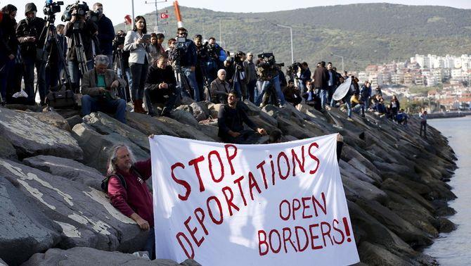La Comissió Europea vol un nou sistema d'asil a la UE