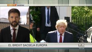 La victòria del Brexit té dues cares: Boris Johnson i Nigel Farage