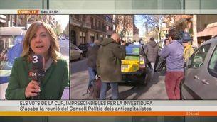 El consell polític de la CUP es manté en l'abstenció a la investidura de Jordi Turull