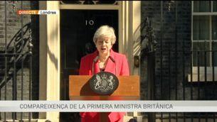 Theresa May anuncia que dimitirà el 7 de juny