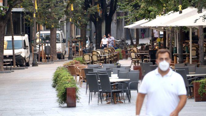 Totes les restriccions a Girona i Salt per l'augment de casos de Covid