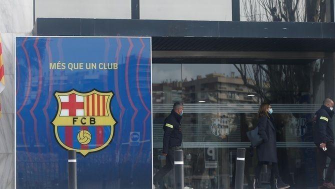 Mossos a Can Barça