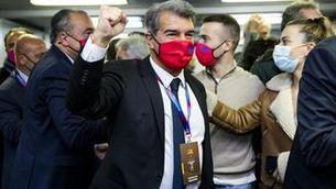Joan Laporta guanya les eleccions i és el nou president del Barça