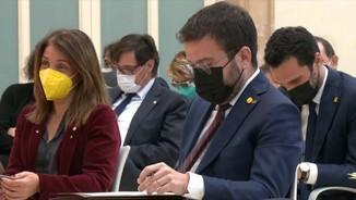 Imatge de:Junts i ERC reprenen les negociacions sobre la investidura de Pere Aragonès