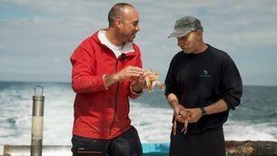 """""""La mar de bé"""": Quim Casellas surt a navegar a bord del Palandriu i el Pare Trias"""