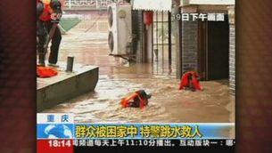 Alarma a la Xina per la presa de les Tres Gorges