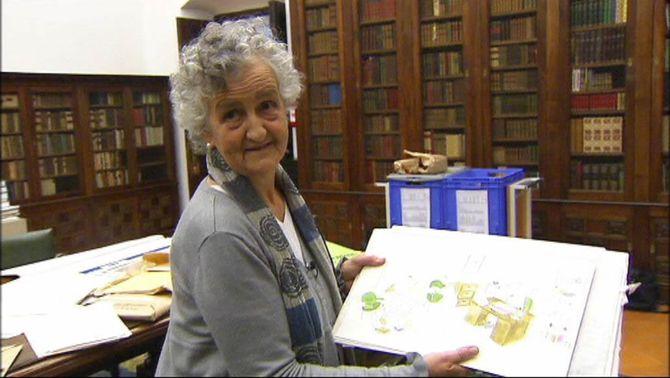 Roser Capdevila prepara la donació del seu llegat a la Biblioteca de Catalunya