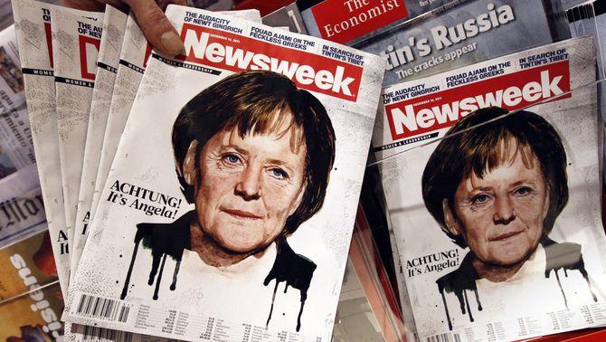 """Diversos exemplars de la revista """"Newsweek"""", el desembre passat (Foto: Reuters)"""