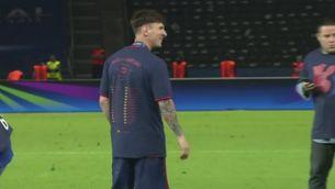 El fill de Messi, amb la Champions