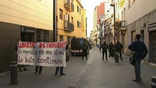 Operatiu dels Mossos d'Esquadra contra grups anarquistes a Barcelona i Manresa
