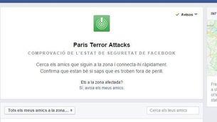"""El """"safety check"""" de Facebook"""