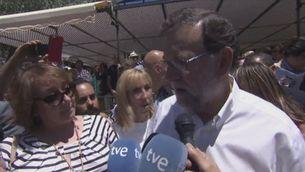 Rajoy dóna suport a Fdez Díaz