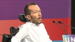 El secretari d'Organització, Pablo Echenique