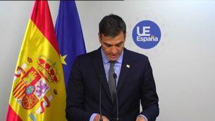 Pedro Sánchez diu que tothom hi perd amb la sortida del Regne Unit de la UE, però que, respecte a Gibraltar, Espanya hi guanya